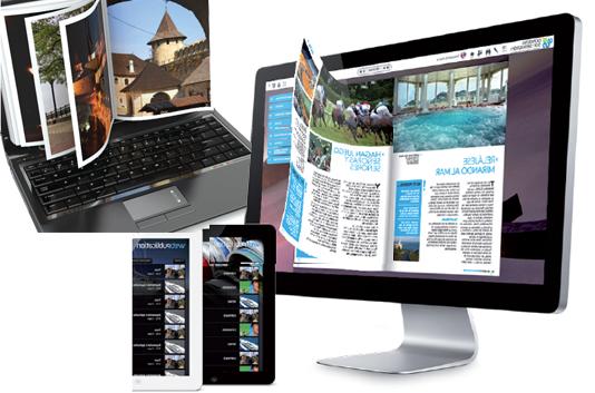 Realizacion catalogos digitales PAge Flip.
